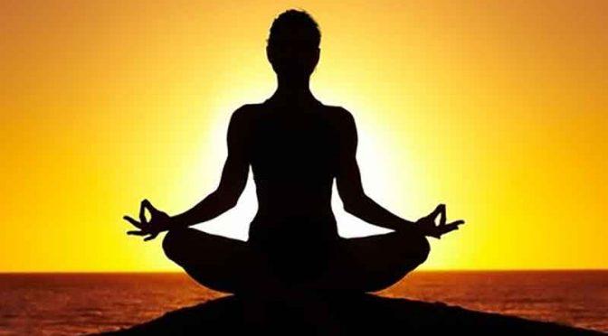 Bisikan-bisikan hening dalam meditasi